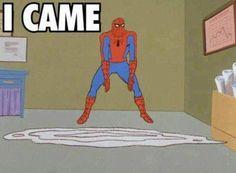 spiderman meme | Tumblr