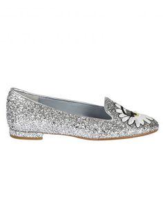 CHIARA FERRAGNI Chiara Ferragni Glitter Eyes Slippers. #chiaraferragni #shoes #https: