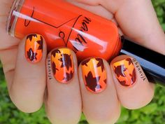 In the past month or so, I've seen entirely too many AMAZING Fall nail art ideas to even attempt to share them all. Here are 30 of my tip top favorite Autumn inspired nail designs so far!:) Nail Designs Inspired by Fall Themes Fall Nail Art Designs, Cute Nail Designs, Nail Art Diy, Diy Nails, Manicure Ideas, Love Nails, Pretty Nails, Style Nails, Do It Yourself Nails