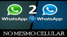 Aprenda como ter 2 Whatsapp no mesmo aparelho de celular. Acesse: https://youtu.be/qrW6mHAzhw4