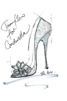 Diseñadores de moda recrean los zapatos de Cenicienta 2015 BY Jimmy Choo   ActitudFEM