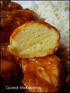 Quenelles natures TM Chana Masala, Food For Thought, I Foods, Cornbread, Entrees, Favorite Recipes, Lunch, Pasta, Jars