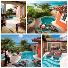 Repeat after us: Mediterranean One Bedroom Butler Villa Suite with Private Pool Sanctuary | Sandals Resorts | Antigua