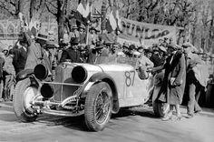 1931 MILLE MIGLIA - Mercedes-Benz SSKL. Drivers: Rudolf Caracciola / Wilhelm Sebastian. Place: 1st o/a.
