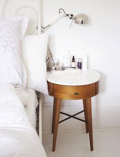 bedside table / photo by gh0stparties