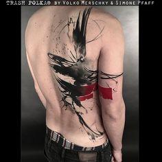 TRASH POLKA® Tattoos by Volko Merschky & Simone Pfaff @trashpolkaofficial @buenavistatattooclub #trashpolka #buenavistatattooclub #volkomerschky #simonepfaff #trashpolkatattoo #trashtattoo #cheyennetattooequipment #tattoo #africa #realistictattoo #graphictattoo #realistictrashpolka #wuerzburg #tattoowuerzburg