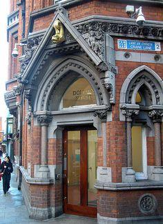 On East Essex Street, Dublin, Ireland