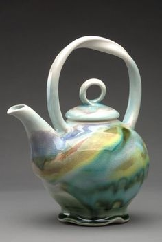 My favorite place teapot Liz Proffetty