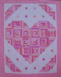Loving Heart Quilt Pattern | Craftsy