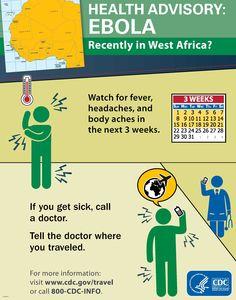 Ebola Health Advisory