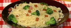 For this installment of Michael's five in five he created a delicious and simple angel hair pasta dish.