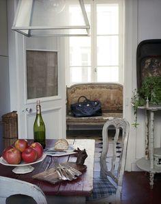 my kitchen. (photo:Xavier Béjot)Frank Delmarcelle