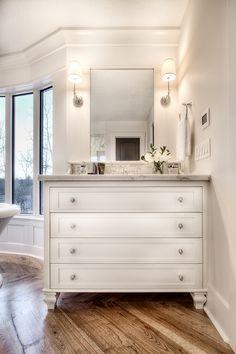 34 Ideas Bathroom Vanity Decor Benjamin Moore For 2019 Bathroom Vanity Decor, Glass Bathroom, Bathroom Sets, Bathroom Furniture, Small Bathroom, Bathroom Plants, Bathroom Designs, Bathroom Storage, Bathroom Lighting