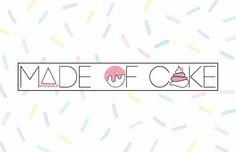 Stay Carm   B. Portfolio #branding #sprinkles #cake #logo #pastels
