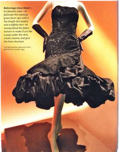 Balenciaga gown - Vogue 1969