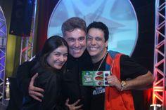Cintia, Edson, Lucio Mauro Filho