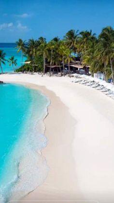Beautiful Beach In Maldives Salt Water Vacation Destinations Vacation Places, Vacation Destinations, Dream Vacations, Vacation Spots, Places To Travel, Places To See, Most Beautiful Beaches, Beautiful Places, Tropical Beaches