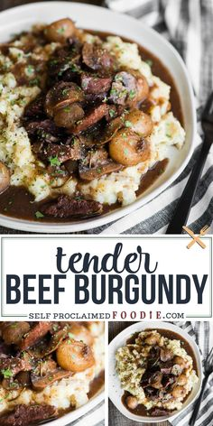 Beef Burgandy is an easy dinner recipe that can be made in the slow cooker, an Instant Pot, or on the stovetop. This red wine french stew is the best! More from my siteSlow Cooker Recipes Slow Cooker Beef, Slow Cooker Recipes, Cooking Recipes, Healthy Recipes, Beef Burgundy Slow Cooker, Beef Burgandy Crockpot, Cooking Tips, Easy Beef Recipes, Beef Pieces Recipes