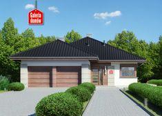 Projekt domu: Dom przy Pastelowej 10 Ideas Para, Garage Doors, Sidewalk, Outdoor Decor, Home Decor, Decoration Home, Room Decor, Side Walkway, Walkway