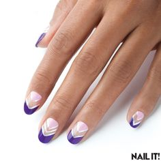 Here's Which Polishes We Used for Our Half Moon Nails... - NAIL IT!