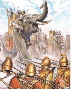 Battle of Ipsus 301 B.C..