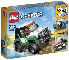 Buy LEGO Creator Adventure Vehicles 31037 - Find a superb collection of toys and games from Hamleys. We offer fast, efficient delivery on a wide range of toys and games, all available with premium gift wrapping! Lego Creator, The Creator, Offroader, Bull Bar, Lego Minecraft, Lego Lego, Buy Lego, Lego Friends, Fire Extinguisher