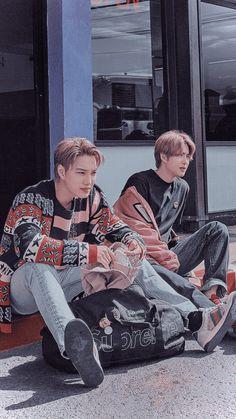 Kpop Exo, Exo Chanyeol, Exo Wallpaper Hd, Baekhyun Wallpaper, Kai, Exo For Life, Exo Group, Exo Album, Exo Lockscreen