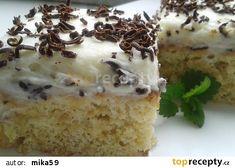 Rychlá buchta s jablky recept - TopRecepty.cz Krispie Treats, Rice Krispies, Vanilla Cake, Tiramisu, Pudding, Ethnic Recipes, Desserts, Food, Tailgate Desserts