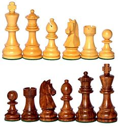 375 King Height Collector Edition Premium Wooden Staunton Chessmen Chess Pieces Figure Figurine *** Visit the image link more details.