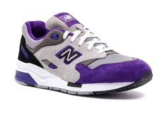 New Balance 1600 Grey White Purple Cheap New Balance, New Balance Style, New Balance Men, Nb Shoes, New Balance Trainers, Purple Sneakers, Valentine Day Special, Grey And White