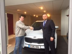 Congratulations to Mr Langford on being one of the first to get an all-new ‪#‎16Plate‬ Kia Sportage!