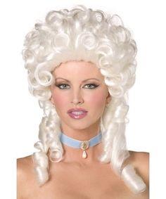 White Baroque Marie Antoinette French Revolution Costume Wig   eBay