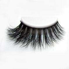 e2c171dfeff Arimika Natural 3D Long Thick Crescent-shaped Authentic Mink False Eyelashes  For makeup 1 Pair
