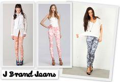 J Brand Jeans: the new Tie-Dye 810 Mid-Rise Skinny Leg
