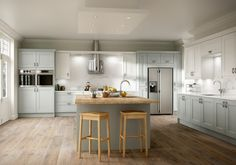 Add a island into your kitchen design for a fantastic centrepiece.