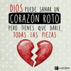 Entrégale a Dios tu corazón y se encargará de él. «El Señor es mi fortaleza y mi escudo; confío en él con todo mi corazón. Me da su ayuda y mi corazón se llena de alegría; prorrumpo en canciones de acción de gracias». —Salmos 28:7 ღ✟