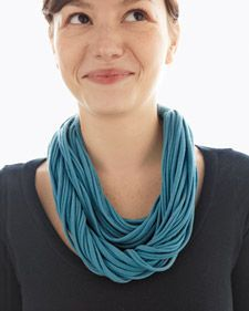 Recycled: T-shirt Necklace, Nice!