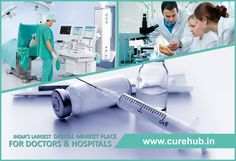 The Knowledge to Save Lives. The Location to Save Time, log on to curehub.in