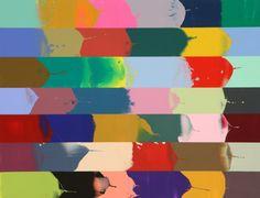 Bernard FRIZE Bertin 2008 Acrylic and resin on canvas 81x100cm