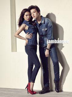 Park Shin Hye and Ahn Jae Hyun - Nylon Magazine March Issue '14