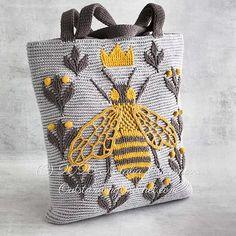 Crochet Bee, Thread Crochet, Crochet Hooks, Front Post Double Crochet, Half Double Crochet, Knit Picks, Crochet Purses, Queen Bees, Knit Patterns