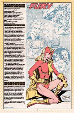 Fury DC Comics | Furia, la hija de la primera Mujer Maravilla, una amazona con ...