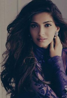 Soonam Kapoor. Beautiful Long Hair