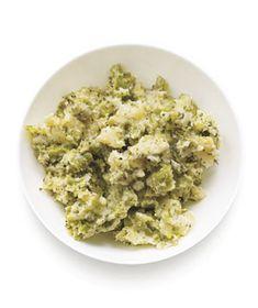 Mashed Potatoes and Broccoli