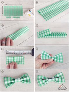63 Ideas baby diy headbands glue guns for 2019 Make A Bow Tie, How To Make Bows, Tie Bow, No Sew Bow, Sewing Crafts, Sewing Projects, Diy Projects, Sewing Ideas, Bow Tie Party