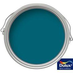Dulux Feature Wall Teal Tension - Matt Emulsion Paint - 1.25L