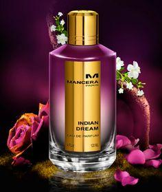 Indian Dream Mancera perfume - a fragrance for women 2014 Perfume Scents, Perfume And Cologne, Best Perfume, New Fragrances, Perfume Bottles, Smell Good, Orange Blossom, Jasmine Rose, Amber Rose