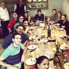 Super pranzetto oggi con i ragazzi @unisg in #cantinadelbruno #welcone in #trentino vero @gustottentino
