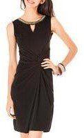 Black beaded collar dress £25 74% OFF!