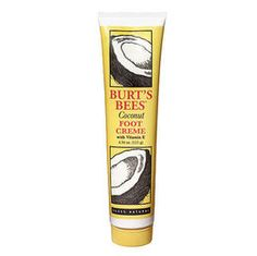 Burt's Bee's coconut foot creme